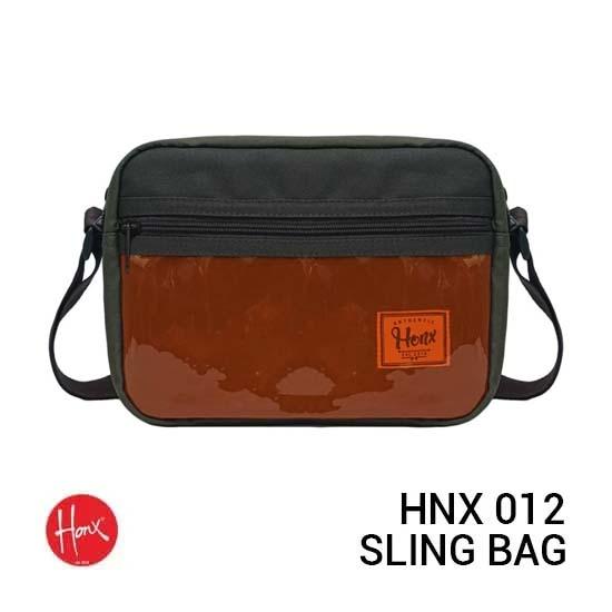 Jual HONX HNX 012 Sling Bag Green Arme Harga Murah dan Spesifikasi