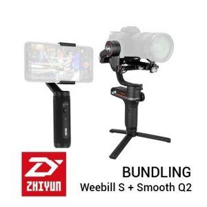 Jual Zhiyun Bundling Weebill S + Smooth Q2 Harga Murah dan Spesifikasi