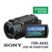 Jual Sony FDR-AX43 UHD 4K Handycam Camcorder Harga Terbaik dan Spesifikasi