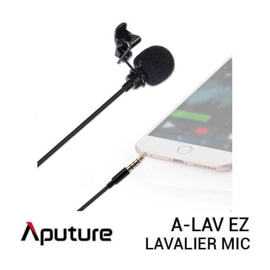 jual Aputure A-Lav EZ Lavalier Microphone harga murah surabaya jakarta