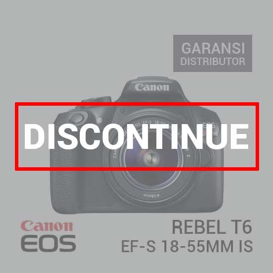 jual kamera Canon Rebel T6 EF-S 18-55mm IS harga murah surabaya jakarta
