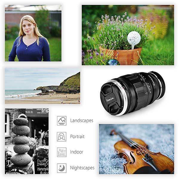 Jual Kamlan 55mm f1.2 for Canon EF Harga Terbaik dan Spesifikasi