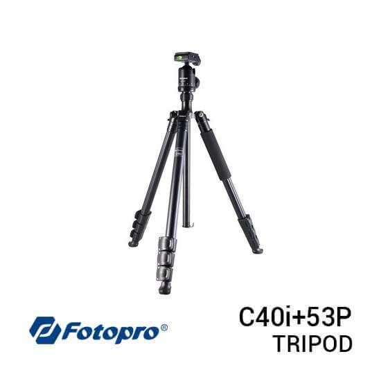 jual Fotopro Tripod C40i+53P Black harga murah surabaya jakarta