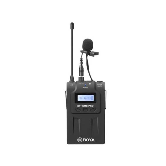 Jual Boya BY-TX8 PRO UHF Wireless Microphone Transmitter Harga Terbaik