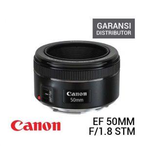 Jual Canon EF 50mm f1.8 STM Garaansi Distributor Harga Terbaik dan Spesifikasi
