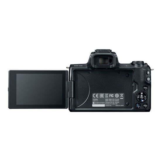 Jual Canon EOS M50 Kit 15-45mm IS STM Garansi Distributor Harga Terbaik dan Spesifikasi