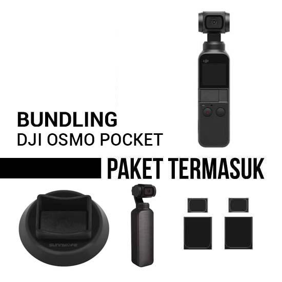 Jual DJI Osmo Pocket Bundling Harga Murah dan Spesifikasi