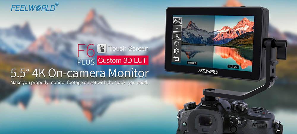 Jual Feelworld F6 Plus 5.5 Inch 3D LUT Monitor Harga Terbaik dan Spesifikasi