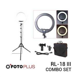 Jual Fotoplus Ring Light RL-18 Mark III Bi-Color LED Harga Terbaik dan Spesifikasi