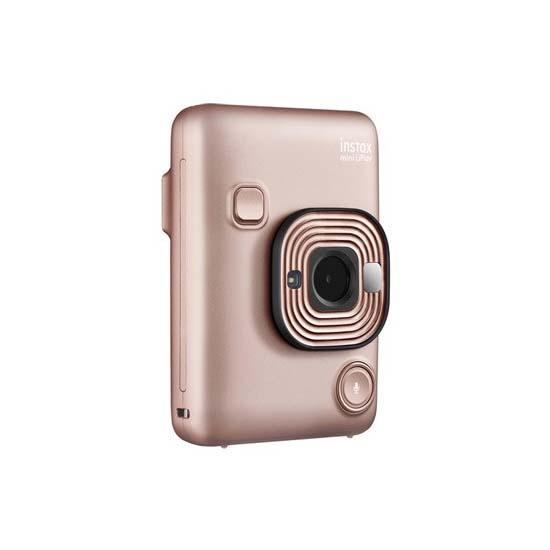 Jual FujiFilm Instax Mini LiPlay – Blush Gold Harga Terbaik dan Spesifikasi
