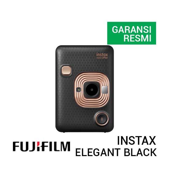 Jual FujiFilm Instax Mini LiPlay - Elegant Black Harga Terbaik dan Spesifikasi