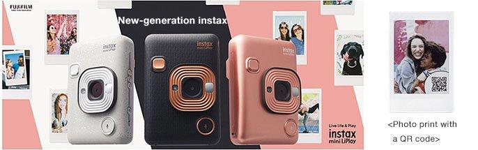 Jual FujiFilm Instax Mini LiPlay Harga Terbaik dan Spesifikasi