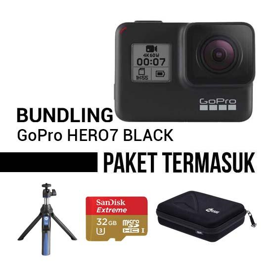 Jual GoPro Hero7 Black Bundling Harga Murah dan Spesifikasi