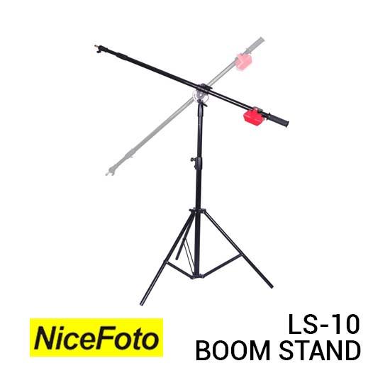 Jual Heavy Duty Boom Stand LS-10 Harga Terbaik dan Spesifikasi