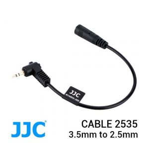 Jual JJC Cable 2535 Mini Stereo Connecting Cable 3.5mm to 2.5mm Harga Murah dan Spesifikasi