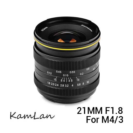 Jual Kamlan 21mm f1.8 for M4-3 Harga Terbaik dan Spesifikasi