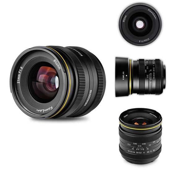 Jual Kamlan 21mm f1.8 for Sony E-Mount Harga Murah dan Spesifikasi