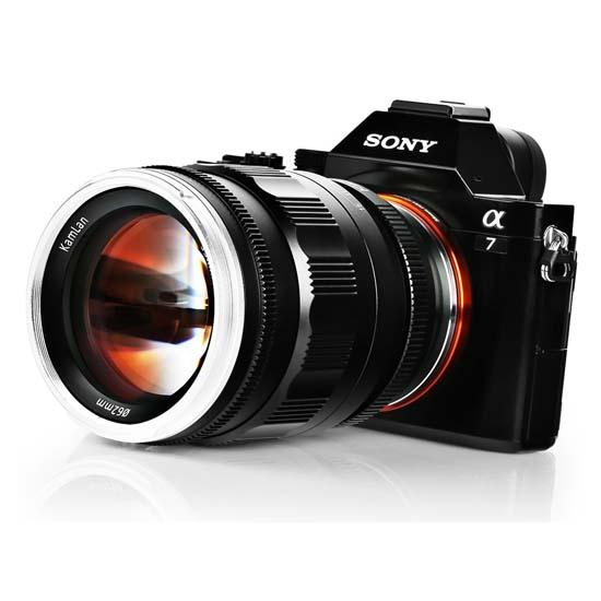 Jual Lensa Kamlan 55mm f1.2 for Sony E-Mount Harga Terbaik dan Spesifikasi