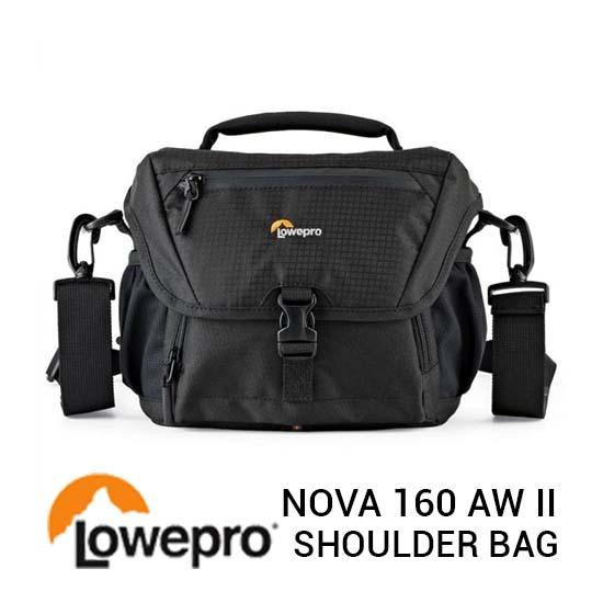 Jual Lowepro Nova 160 AW II Black Harga Murah dan Spesifikasi