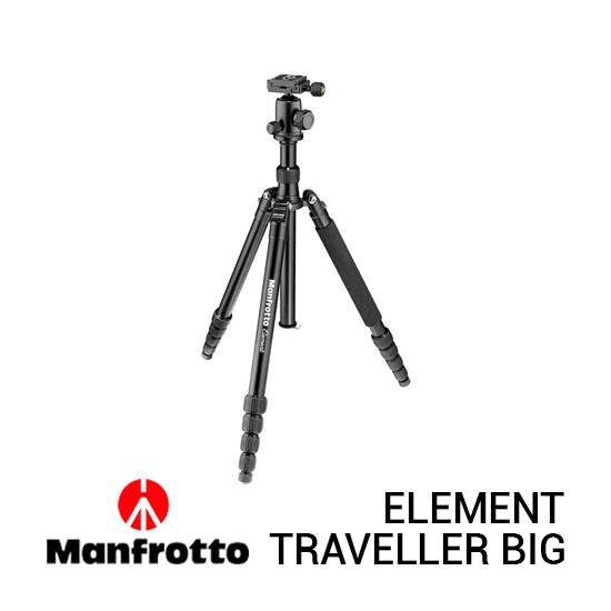 Jual Manfrotto Element Traveller Big Black Harga Terbaik dan Spesifikasi