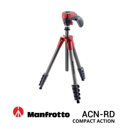 Jual Manfrotto Tripod MK Compact ACN-RD Red Harga Terbaik dan Spesifikasi