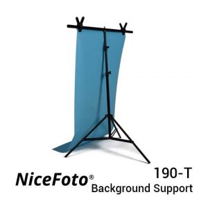 Jual NiceFoto 190-T T-Type Background Support Harga Murah dan Spesifikasi