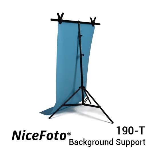 Jual NiceFoto 190-T T-Type Background Support Harga Murah dan Spesifikasi