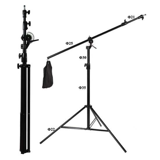 Jual NiceFoto LS-16 2-in-1 Light Stand Harga Murah dan Spesifikasi