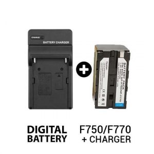 Paket Battery F750/F770 + Charger