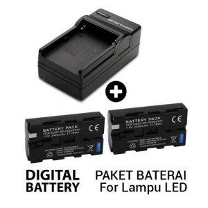 Jual Paket Battery untuk LED Harga Murah dan Spesifikasi