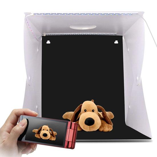 Jual Photo Studio Mini 2 LED - 30cm Harga Murah dan Spesifikasi
