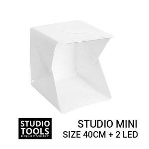 Jual Photo Studio Mini 2 LED - 40cm Harga Murah dan Spesifikasi