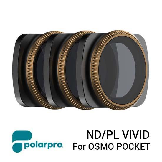 Jual PolarPro Filter ND-PL Vivid Collection for DJI Osmo Pocket Harga Terbaik dan Spesifikasi