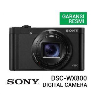 Jual Sony DSC-WX800 Cyber-shot Digital Camera Black Harga Murah dan Spesifikasi