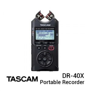 Jual Tascam DR-40X Four-Track Digital Audio Recorder Harga Terbaik dan Spesifikasi