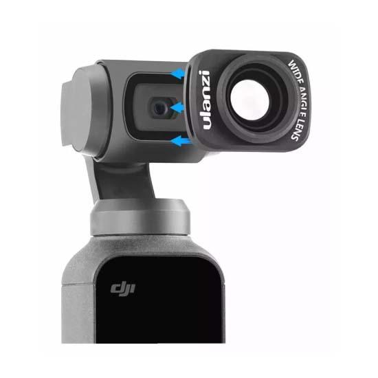 Jual Ulanzi OP-5 0.65x Wide Angle Lens for DJI Osmo Pocket Harga Murah dan Spesifikasi