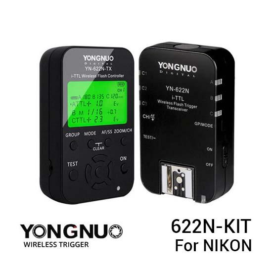 Jual YongNuo 622N-Kit Wireless Trigger For Nikon Harga Murah dan Spesifikasi