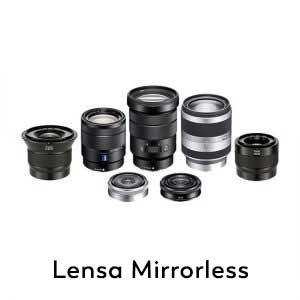 Lensa Mirrorless
