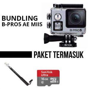 Paket Bundling Brica B-PRO5 Alpha Edition 4K Mark II S Silver toko kamera online jakarta surabaya