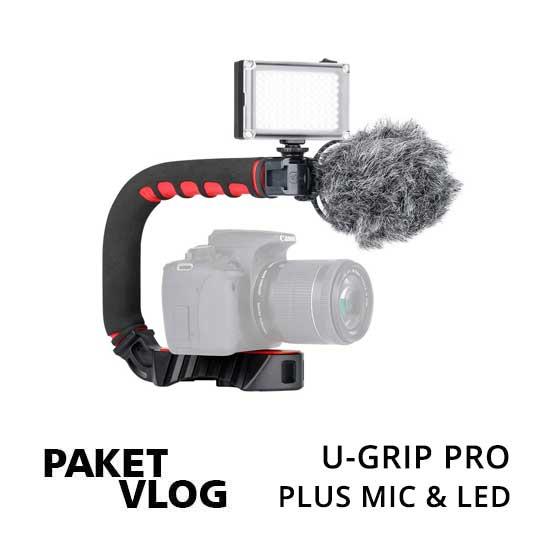 Jual Paket Vlog U-Grip Pro toko kamera online plazakamera surabaya dan jakarta