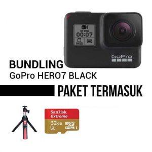 Paket hemat GoPro Hero7 Black Bundling