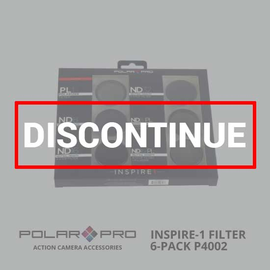 jual PolarPro DJI Inspire 1 Filter 6-Pack P4002