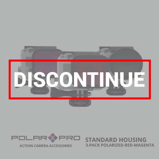 jual PolarPro Standard Housing 3 Pack Polarized-Red-Magenta