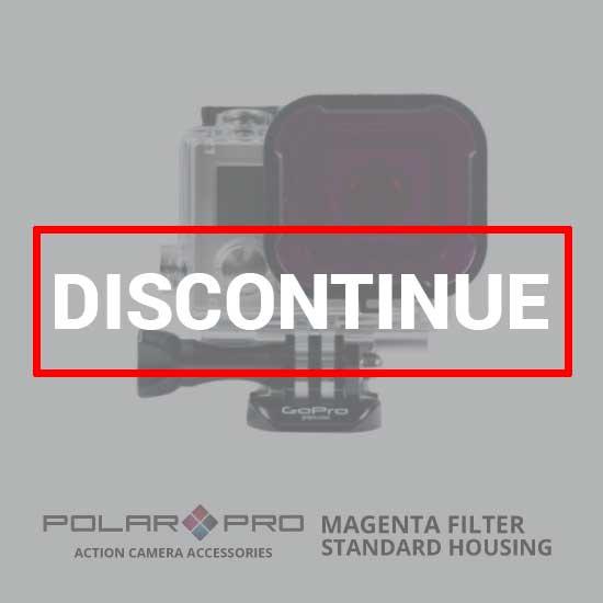 jual PolarPro Standard Housing Magenta Filter