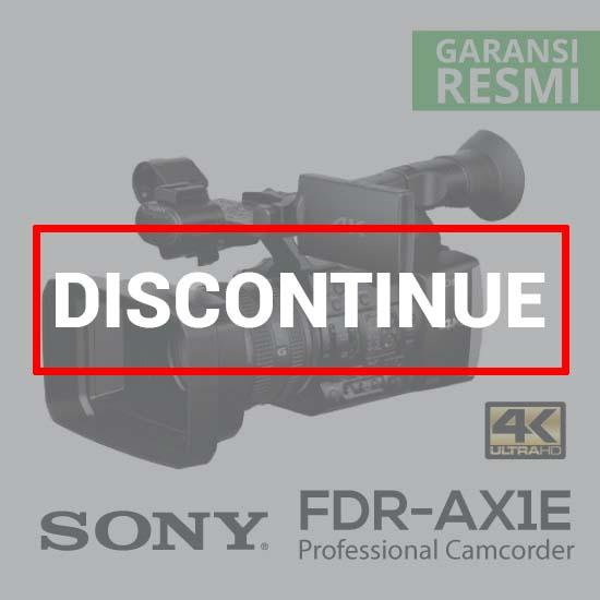 Sony FDR-AX1E Digital 4K Video Camera Recorder discontinue