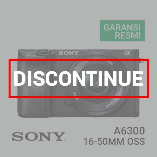 Jual Digital Kamera Mirrorless Sony A6300 Kit 16-50mm harga murah